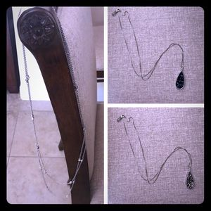 Silver necklace bundle